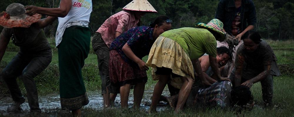 Laos fête des fusées