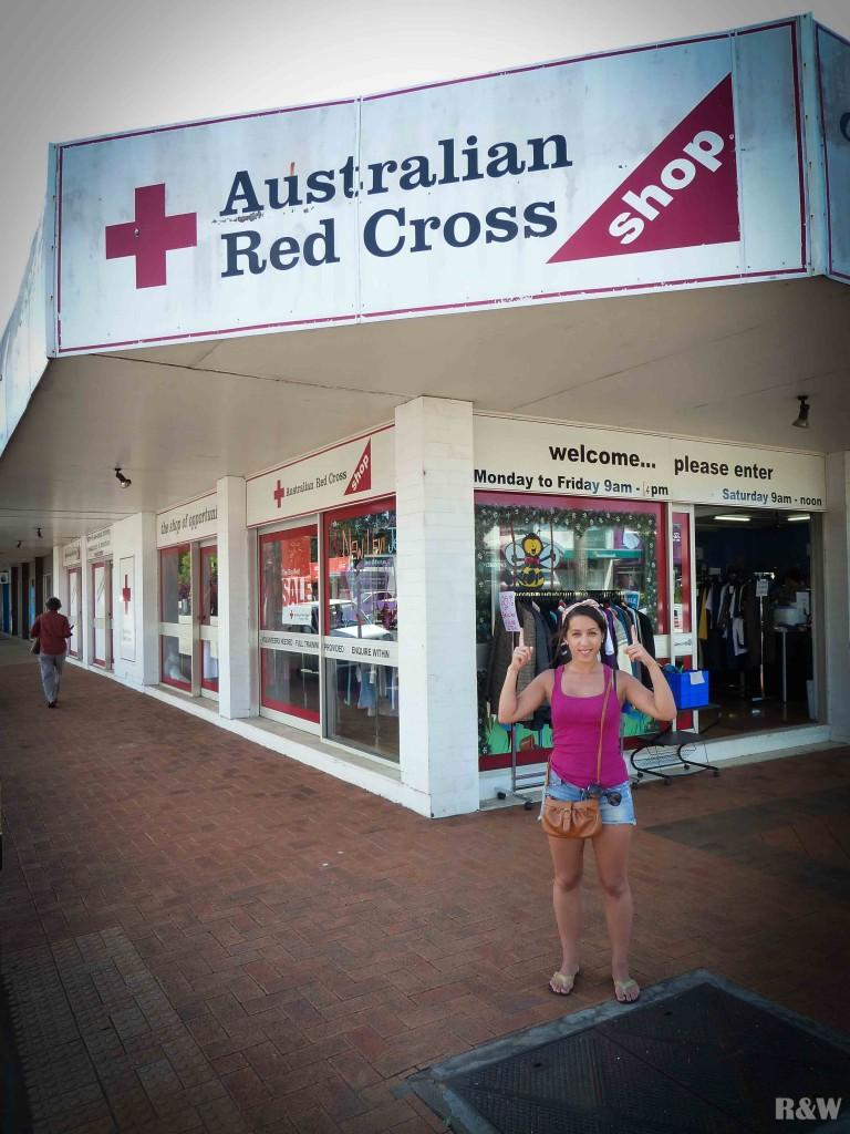 Australian Red Cross - La Croix Rouge australienne à Atherton