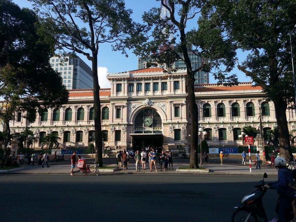 Ho Chi Minh Ville - La Poste (1)