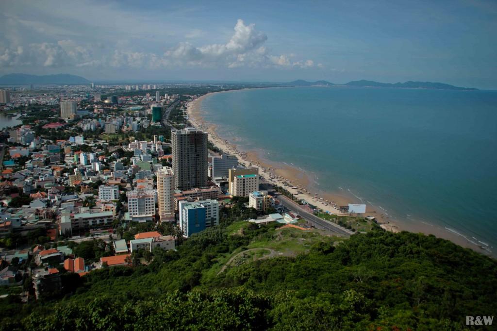 Panorama de ville depuis le Christ