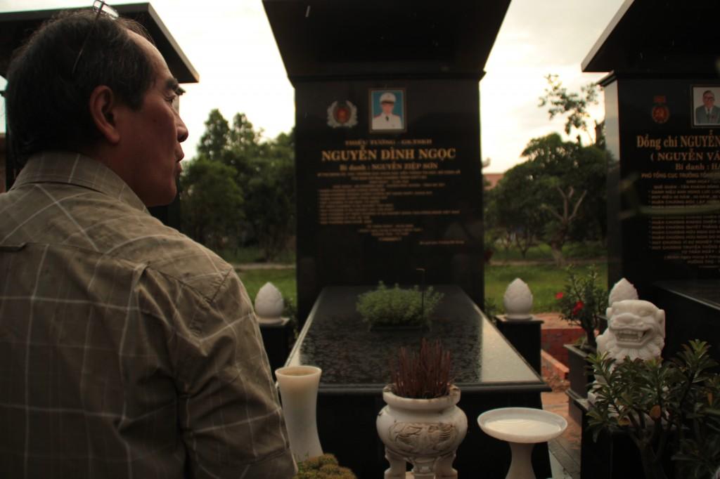 Au cimetière militaire