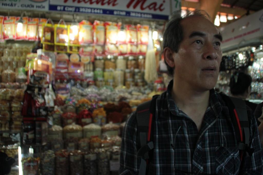 Le Père au marché Ben Thanh