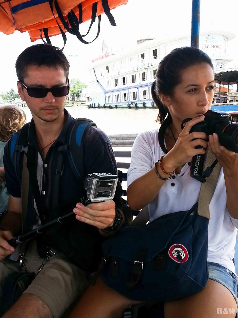 Arou et Flo, les reporters en herbe