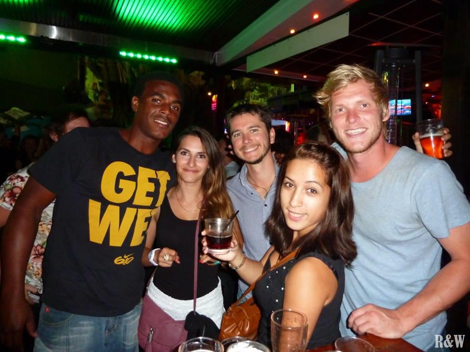 De gauche à droite, Teddy, Marine, Flo, Arou et Tommy