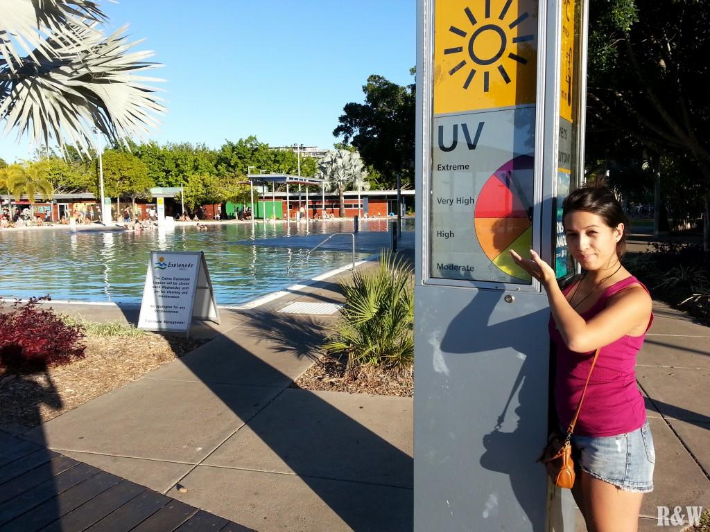 Les UV extrêmement élevés en Australie