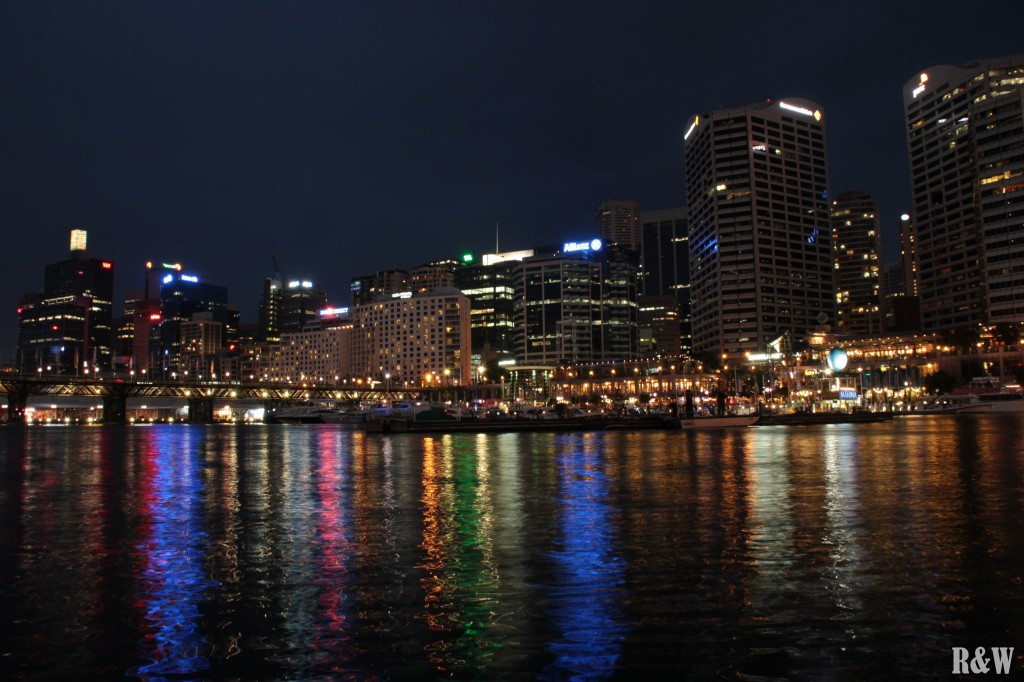 Darling Harbour de nuit