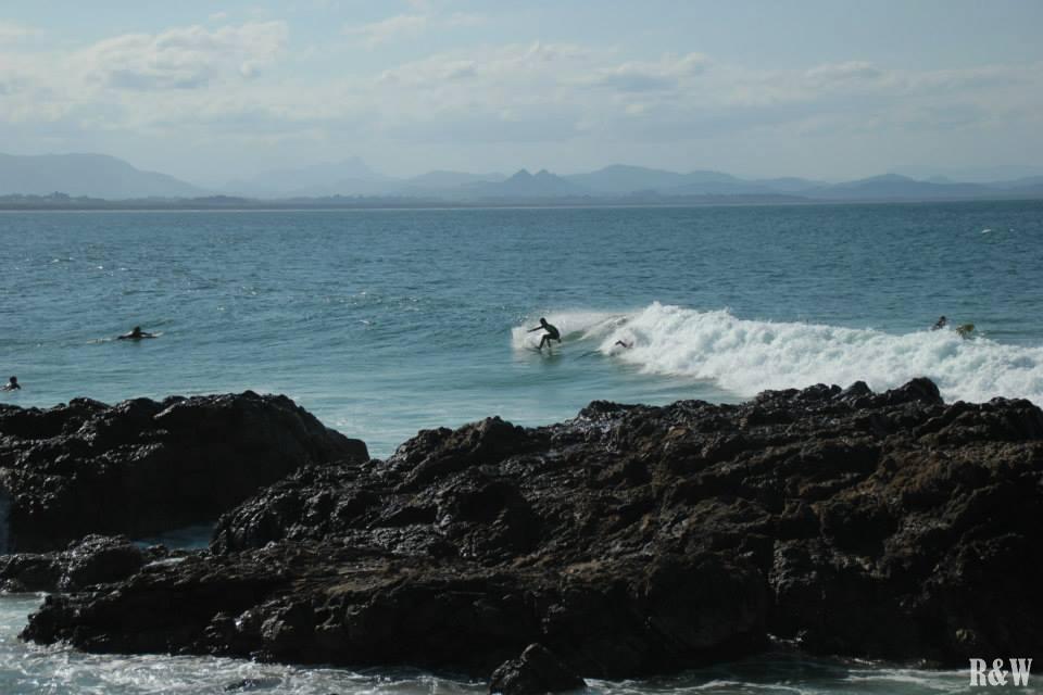 Un peu de surf à Byron Bay