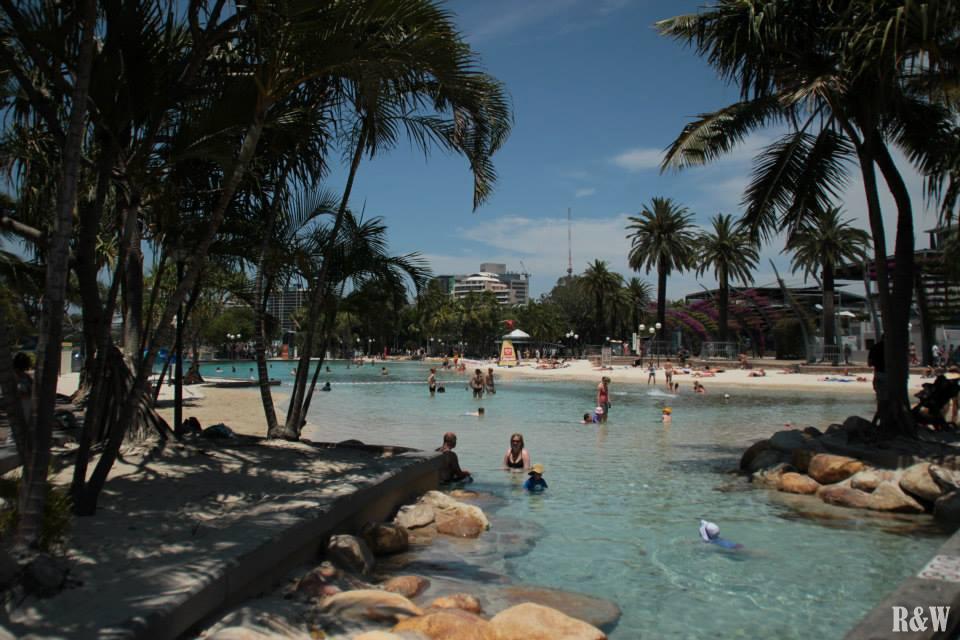 Le lagon de Brisbane