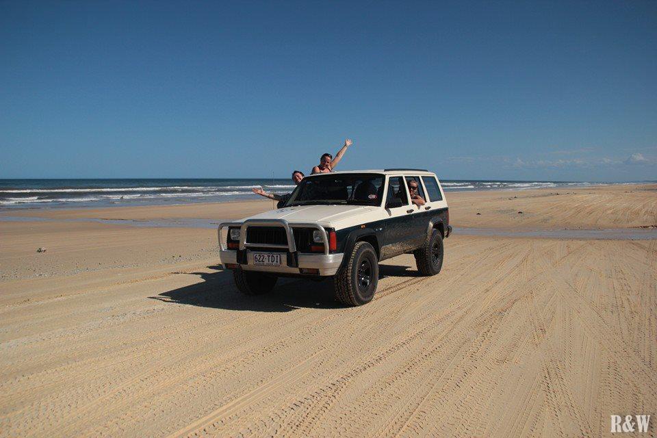 Une super journée en 4x4 sur Fraser Island
