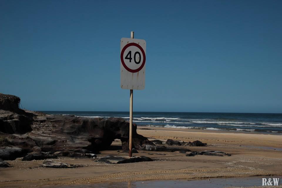 Les limitations vitesses sur l'île
