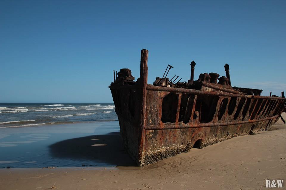 Maheno Wreck, épave du navire échoué en 1935