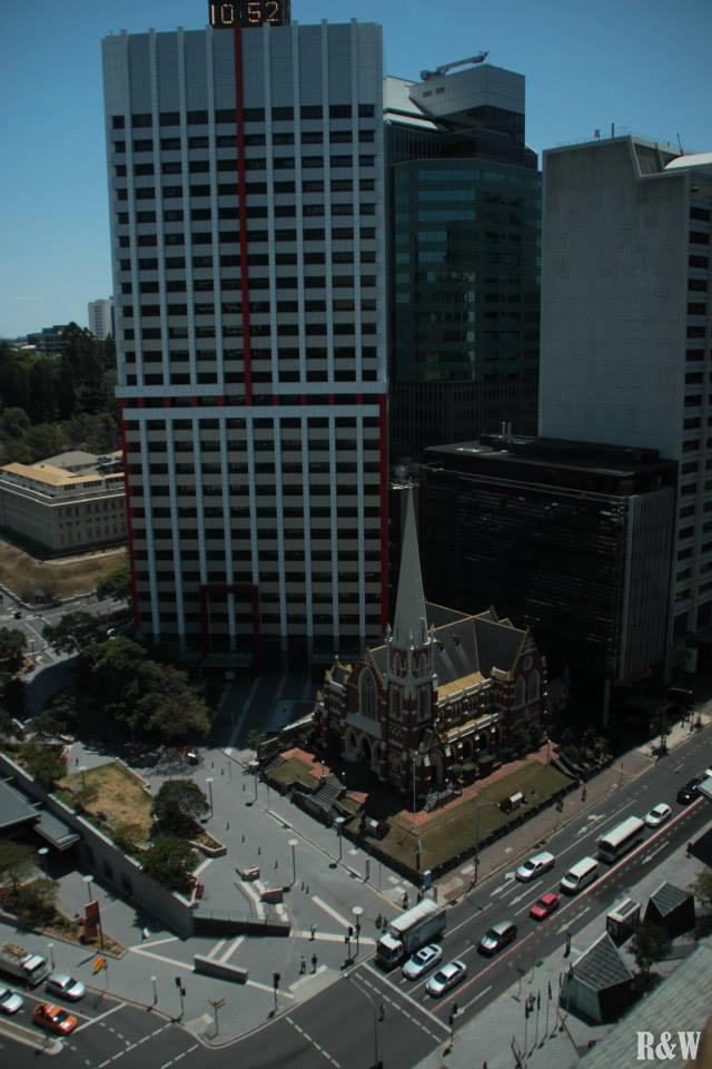 Vue depuis la tour du City Hall