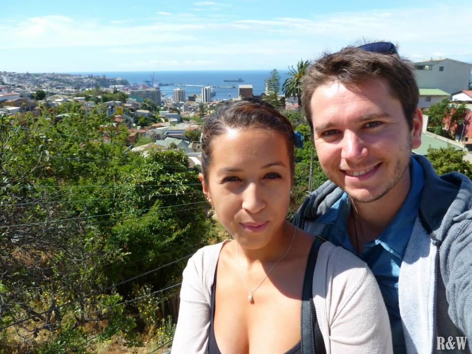 Un brin de nouveauté, Valparaiso, Chili