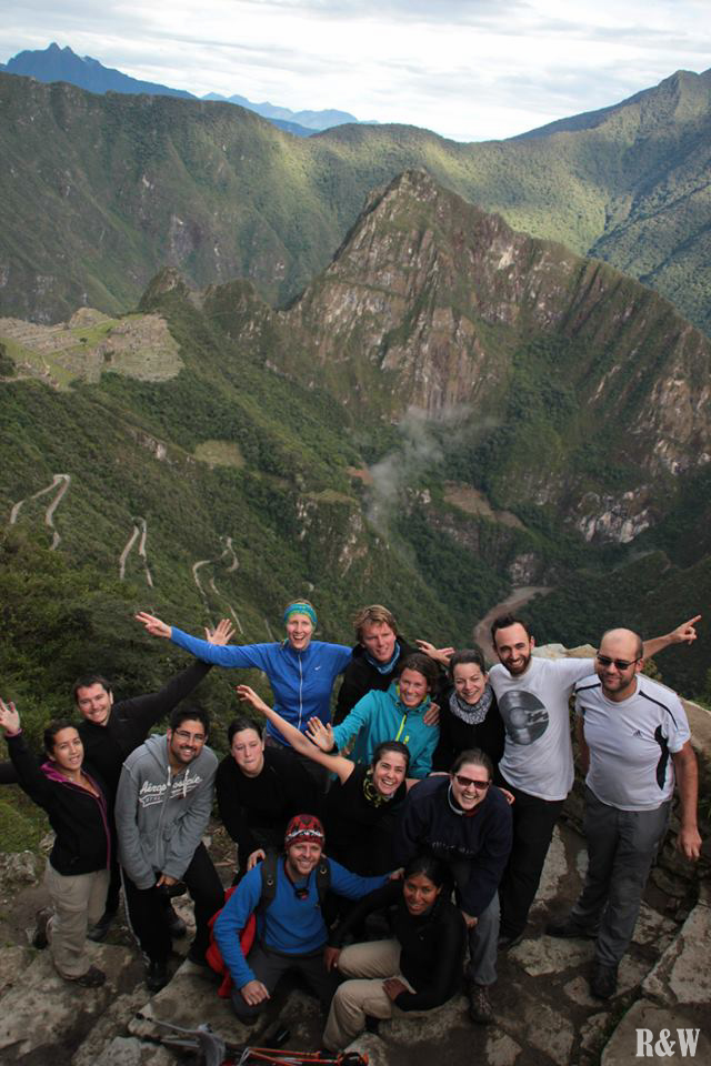 Mamachas and Papachas Team, Machu Picchu, Pérou
