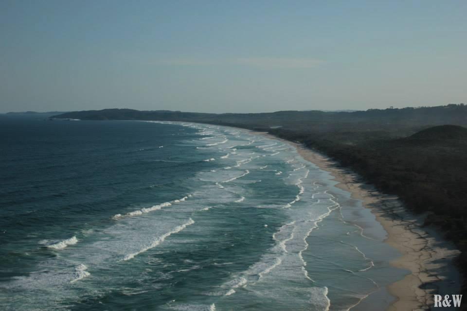 Les beaux points de vue de Byron Bay