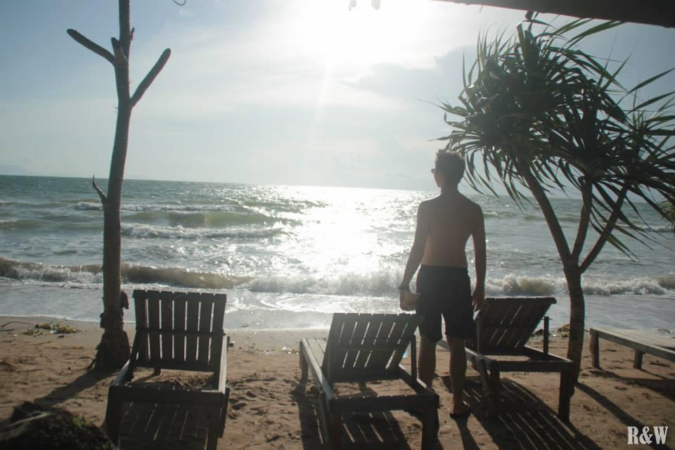 Du repos sur Rabbit Island, Kep, Cambodge