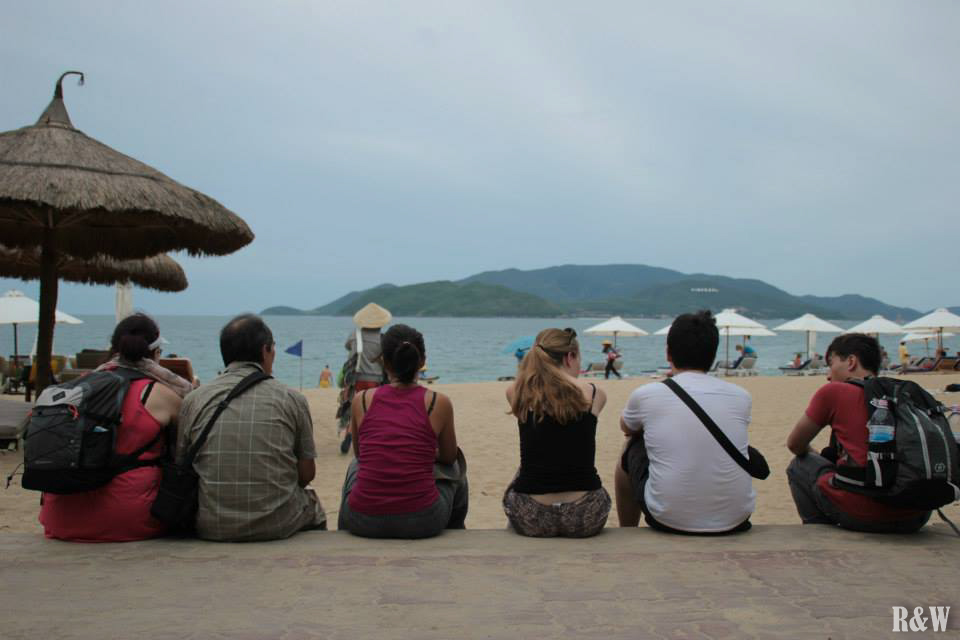A la plage, Nha Trang, Vietnam