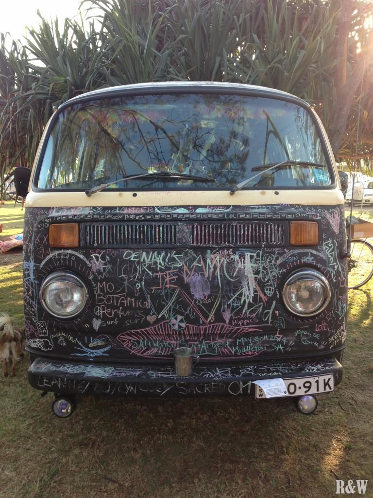 Une vie hippie à Byron Bay