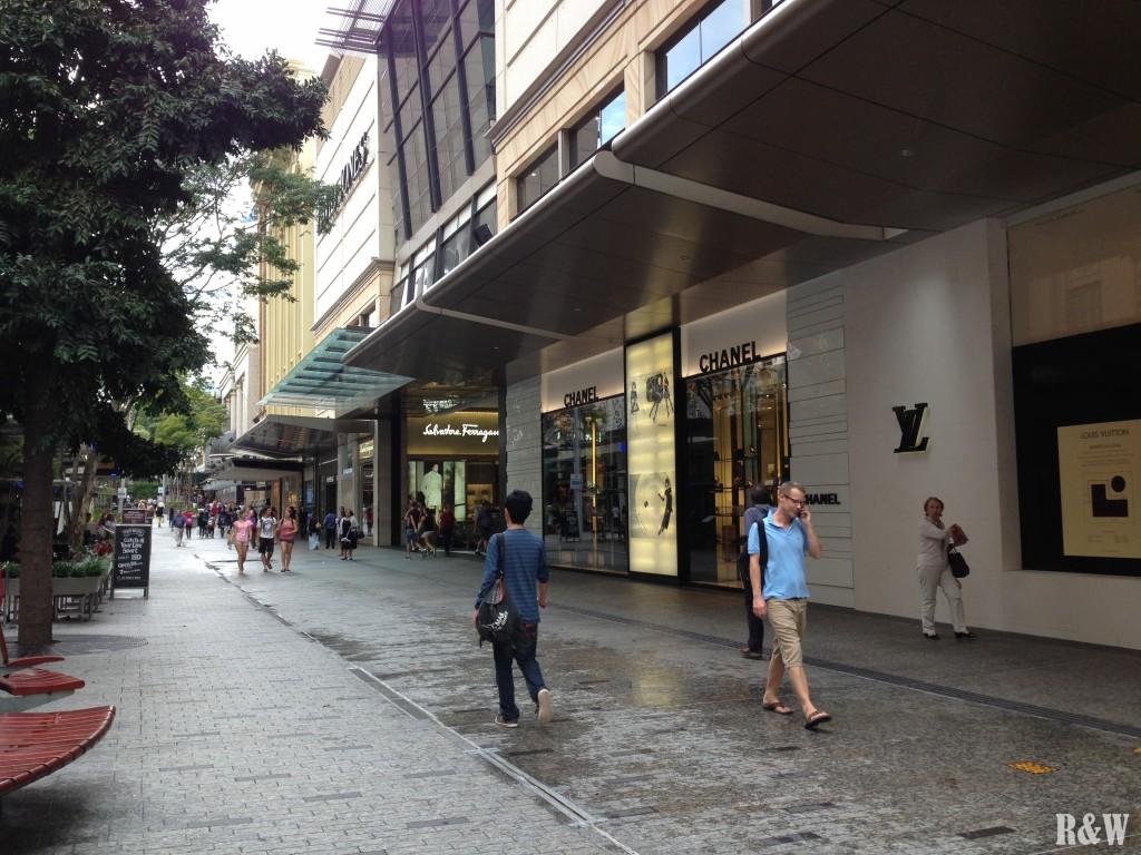 Le Champs Elysées de Brisbane