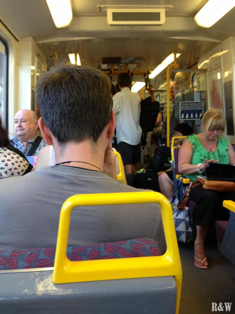 Le train de Brisbane