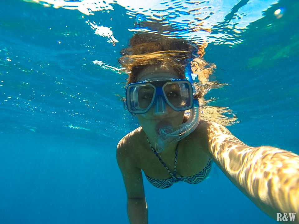 Arou en pleine découverte de la Grande Barrière de Corail
