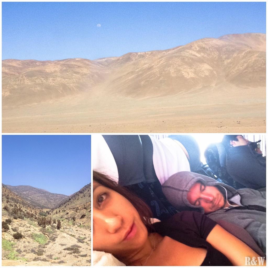 De Valparaiso à San Pedro de Atacama, 25h de bus, du rien, du désert, du paysage lunaire
