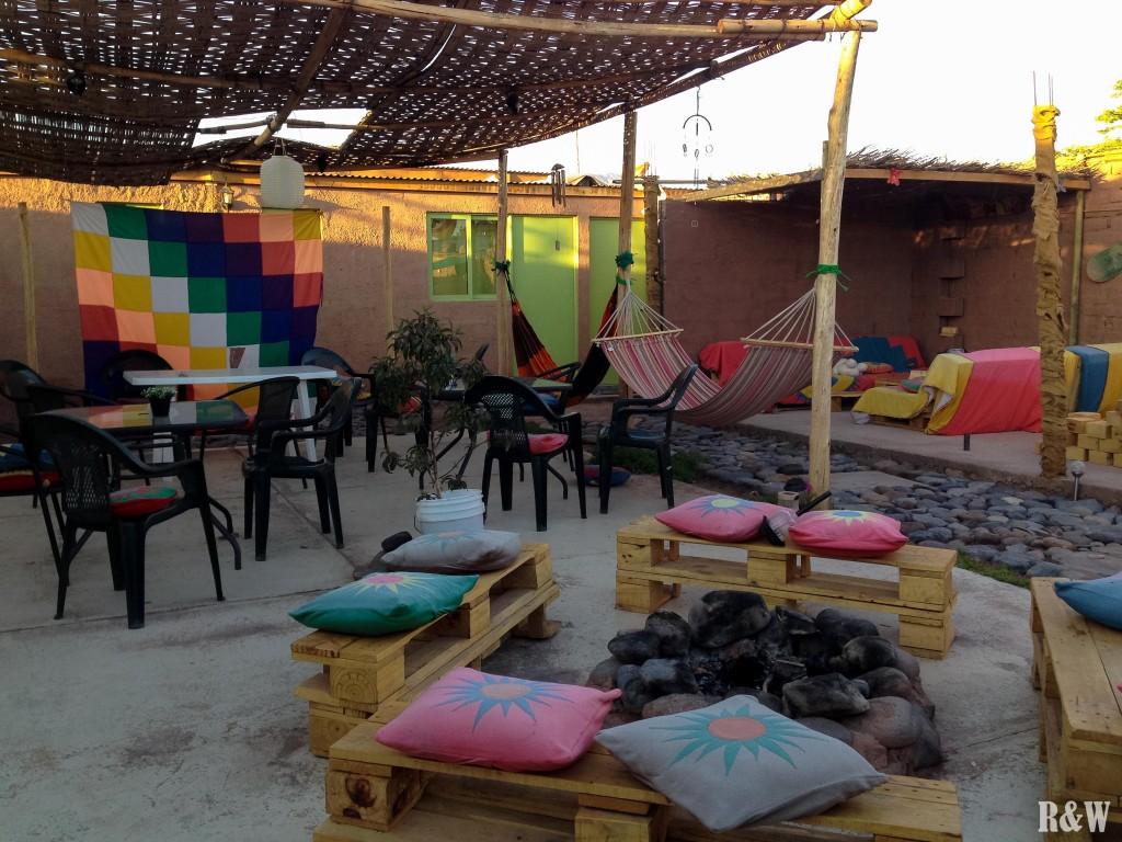 Laskar Cabur hostal, 10€/nuit/pers pour un dortoir