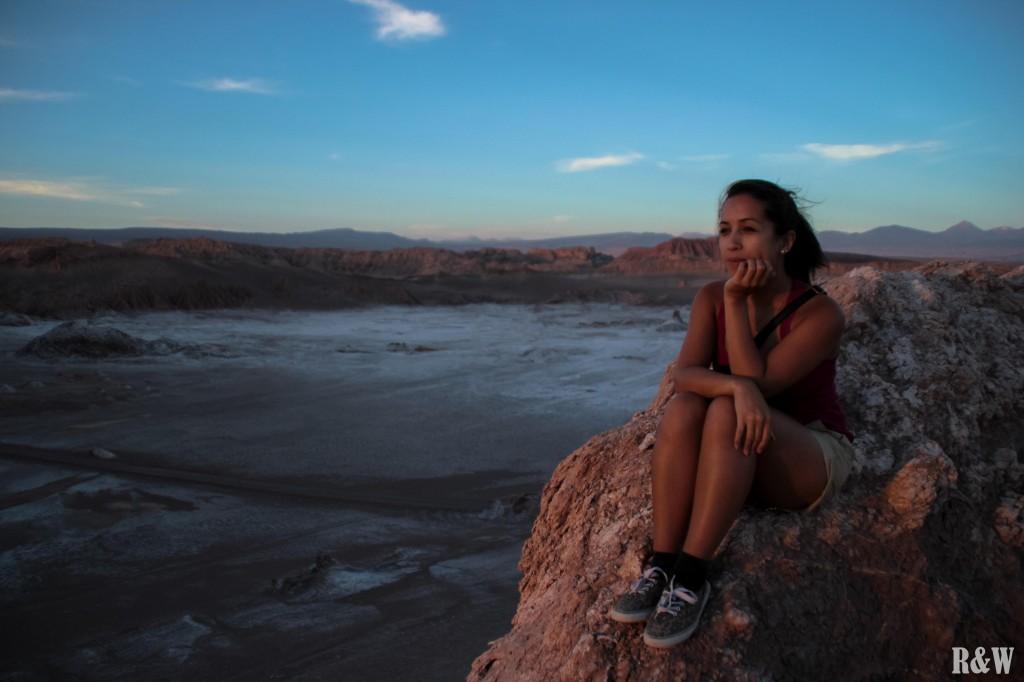 Le coucher du soleil depuis la Dune Mayo