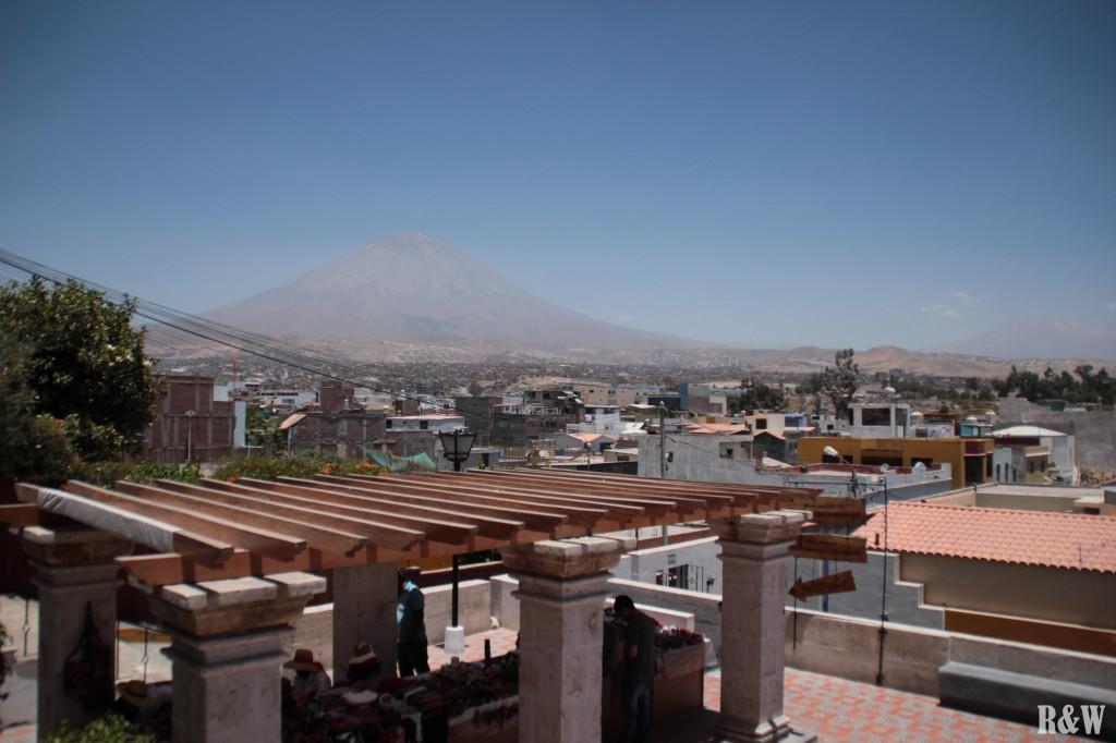 Arequipa depuis le mirador de Yanahuaca