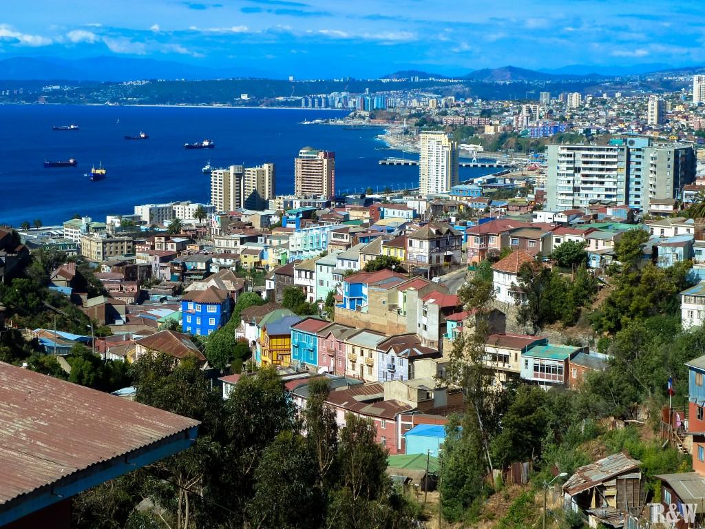 Une des nombreuses belles vues de Valparaiso
