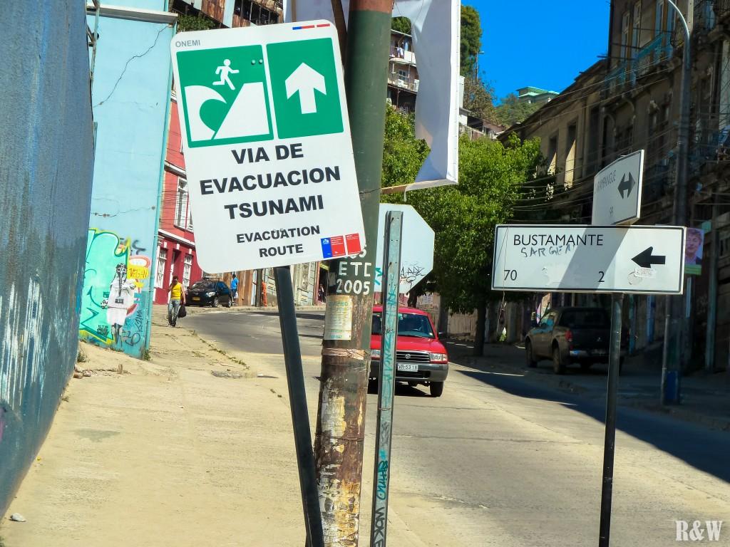 En cas de Tsunami...