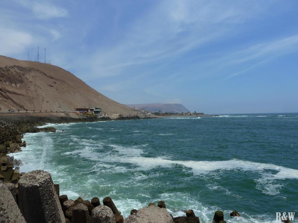 L'Océan Pacifique depuis Arica