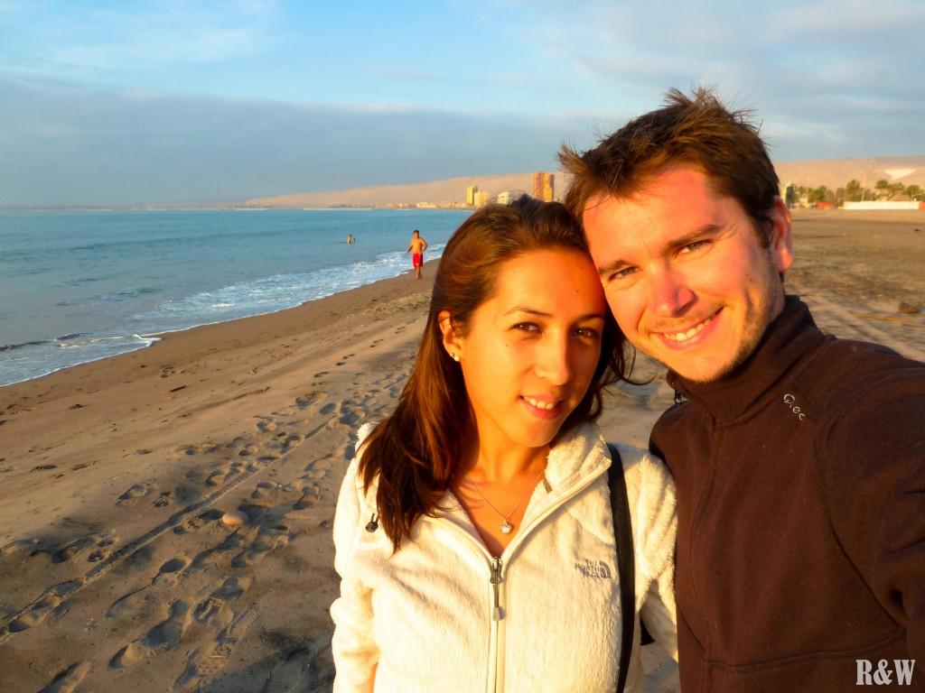 Un printemps éternel, en tongues et en polaire pour notre dernière soirée chilienne