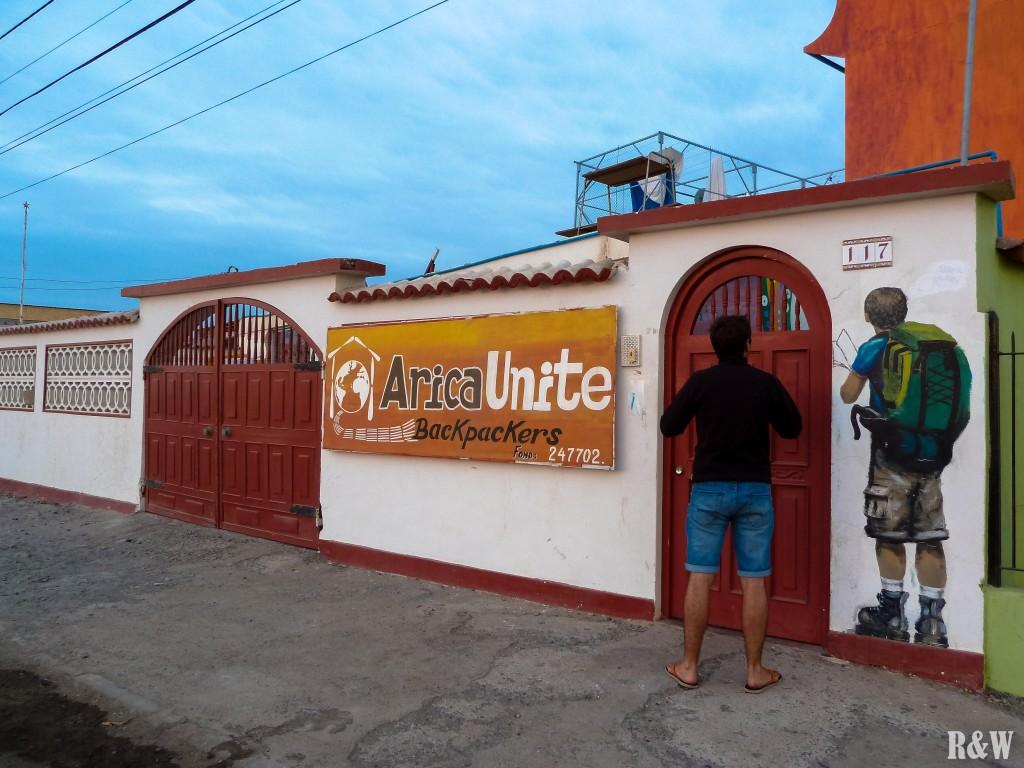 Arica Unite (cf. hostelworld.com)