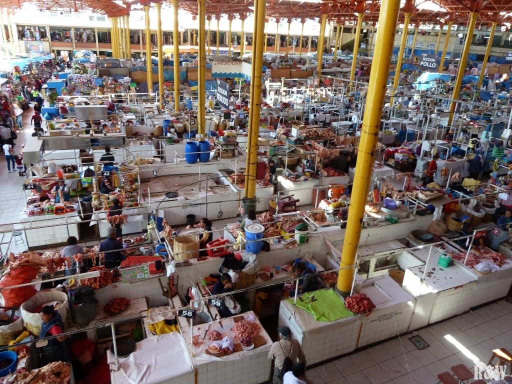 Le marché San Emilio