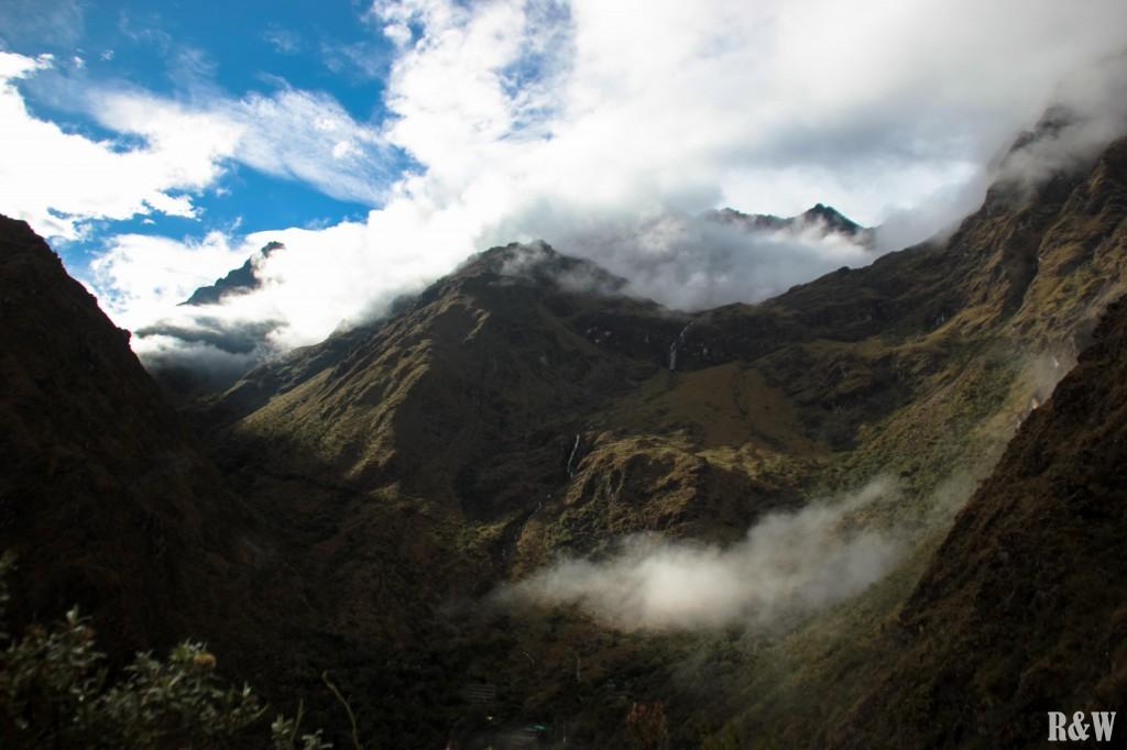 Durant l'Inca Trail, des paysages exceptionnels