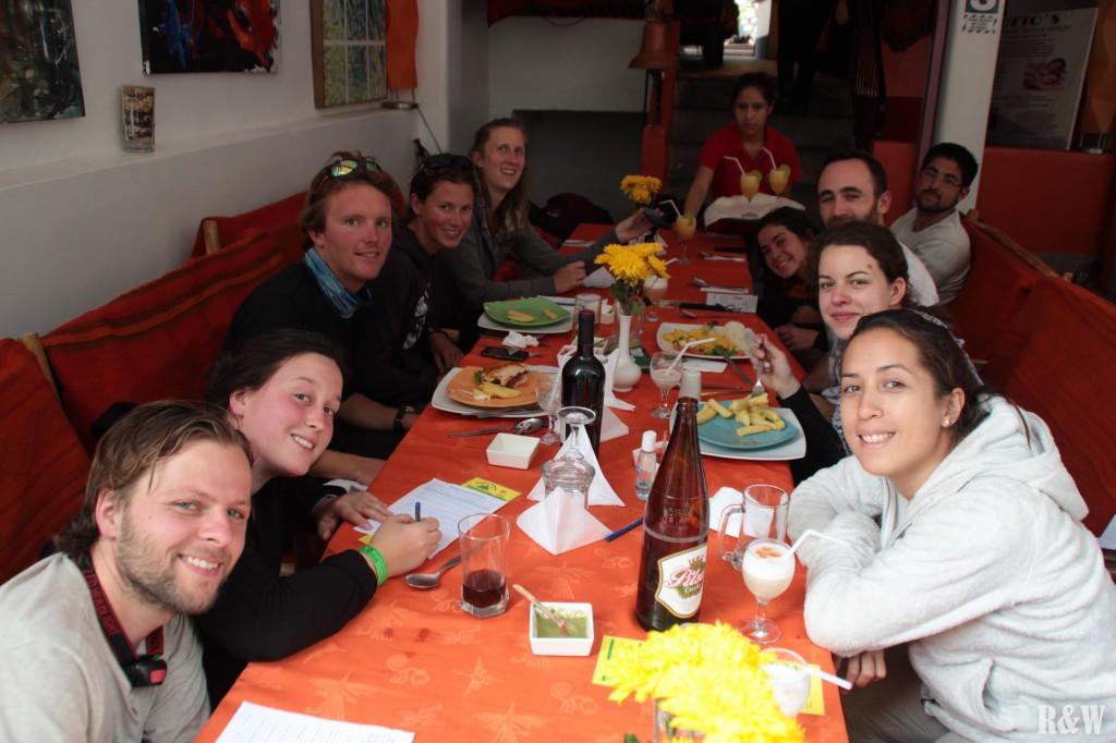 Le réconfort dans un restaurant bien trop cher de Cusco