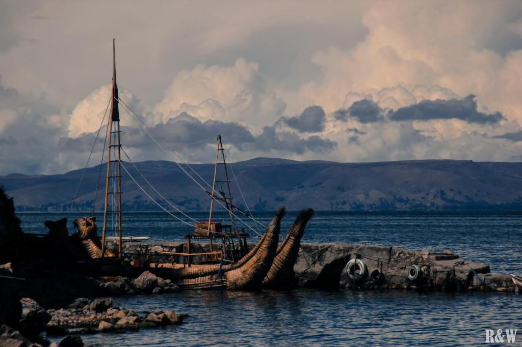Les anciens bateaux traditionnels (en activité seulement pour l'approche touristique)