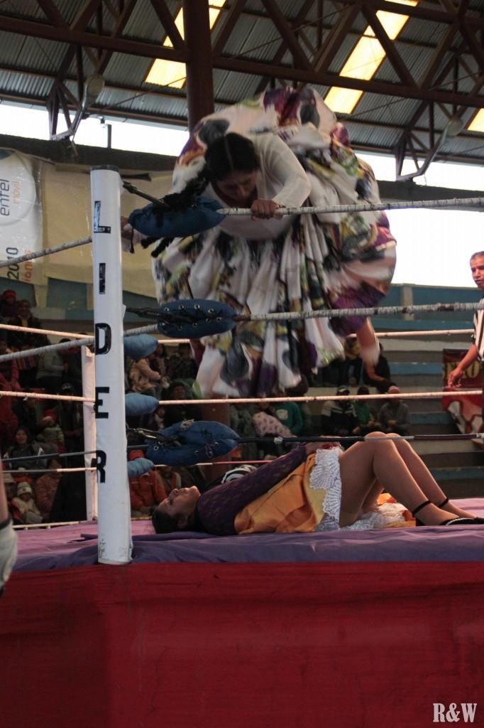 La Lucha Libre, les cholitas entrent en scène