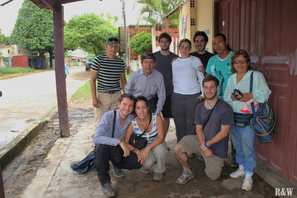 La team de ces trois jours dans la jungle