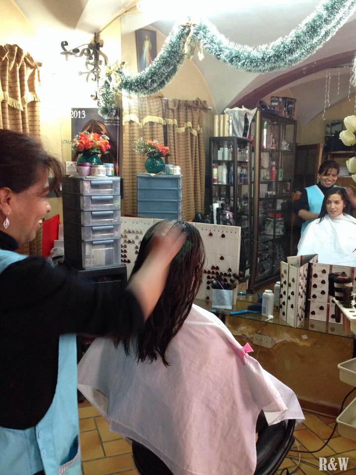 Pour Arou, premier coiffeur en 10 mois.