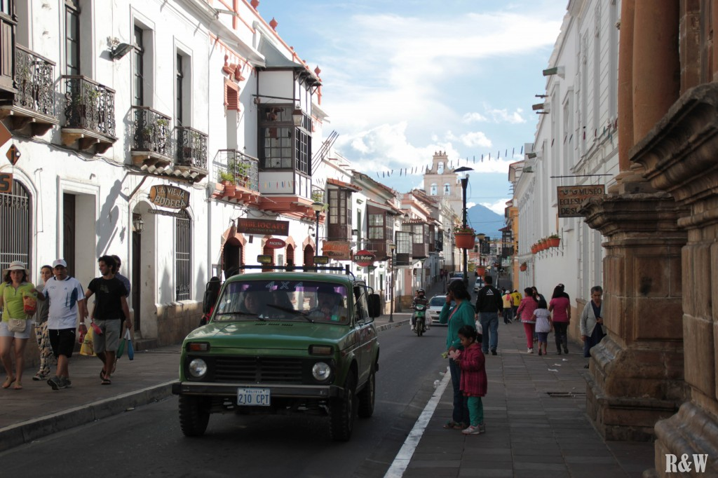 Sucre, la capitale constitutionnelle de Bolivie