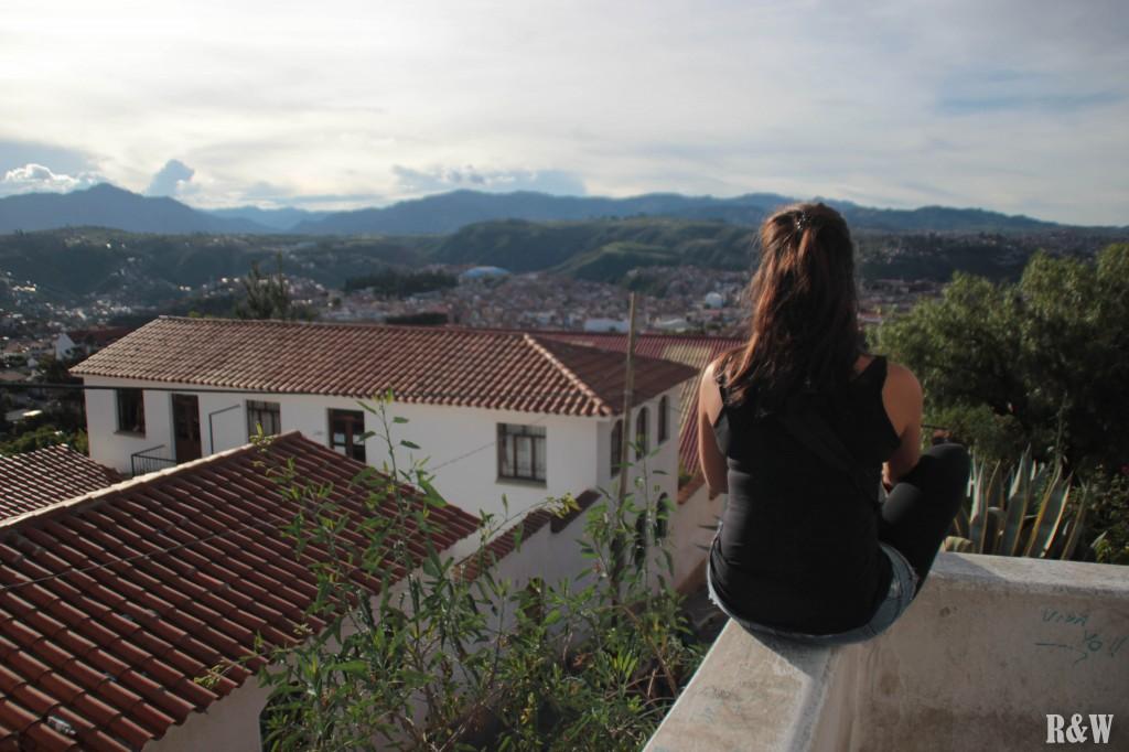 Sucre, une très belle vue