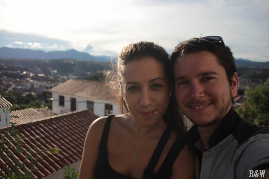 Arou & Flo, en balade dans les rues de Sucre le dernier jour de l'an 2013