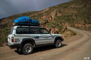 En route pour 4 jours à travers le Sud Lipez pour atteindre le Salar de Uyuni !