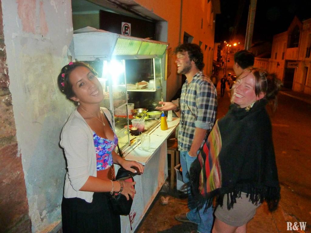 Dîner de la Saint Sylvestre, du grand luxe : Burgers de rue et frites trop grasses