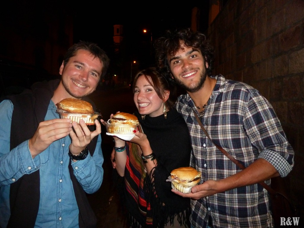 Amitié franco-germanique autour d'hamburgers