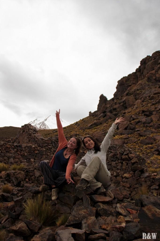 Arou & Juliane... au Machu Picchu bolivien