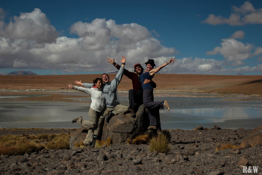 Les quatre touristes européens