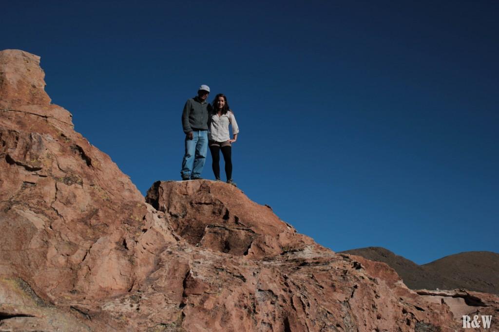 Arou et Hilarion, notre guide sans peur.
